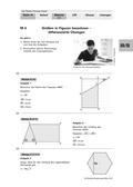 Mathematik_neu, Sekundarstufe I, Größen und Messen, Flächeninhalt, Längen, Flächeninhaltsberechnungen, Umfangsberechnungen, Umfang Sechseck, Umfang Viereck, Flächeninhalt Figuren