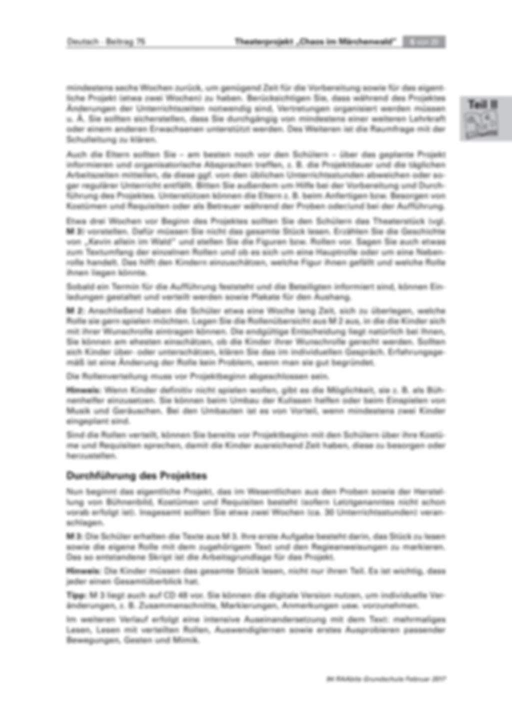 Theaterprojekt: Chaos im Märchenwald Preview 5