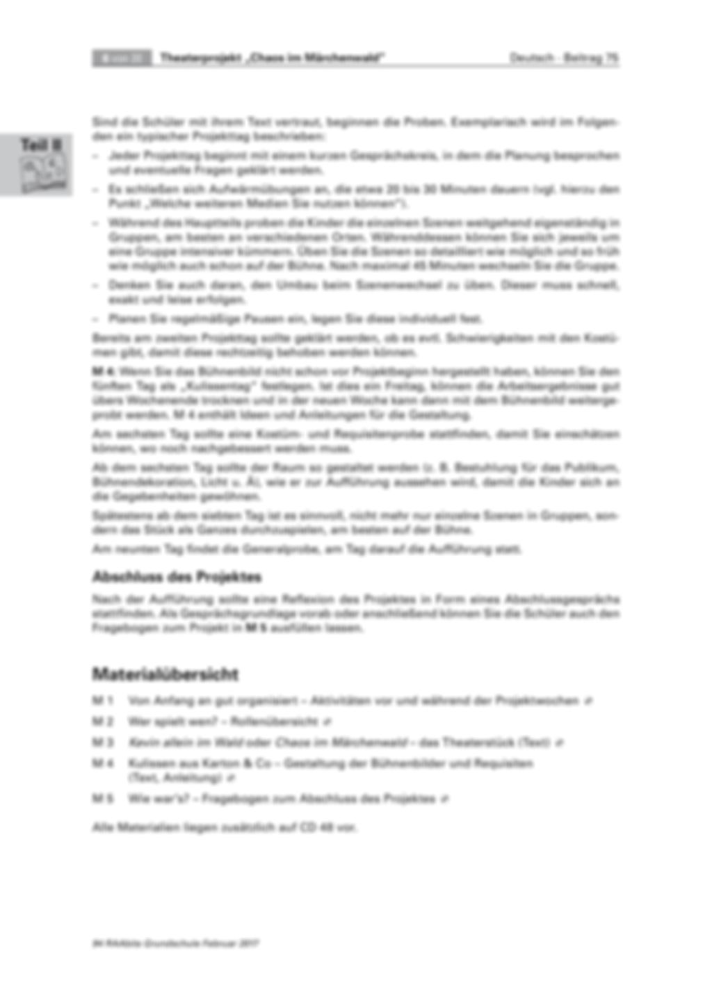 Theaterprojekt: Chaos im Märchenwald Preview 6