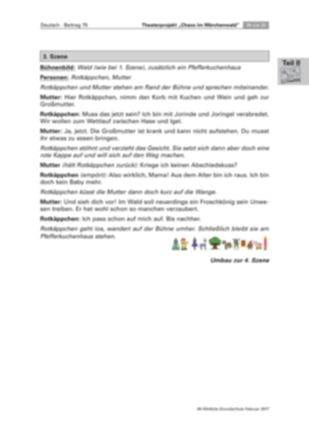 Theaterprojekt: Chaos im Märchenwald Preview 11