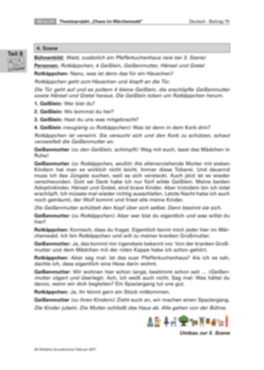 Theaterprojekt: Chaos im Märchenwald Preview 12