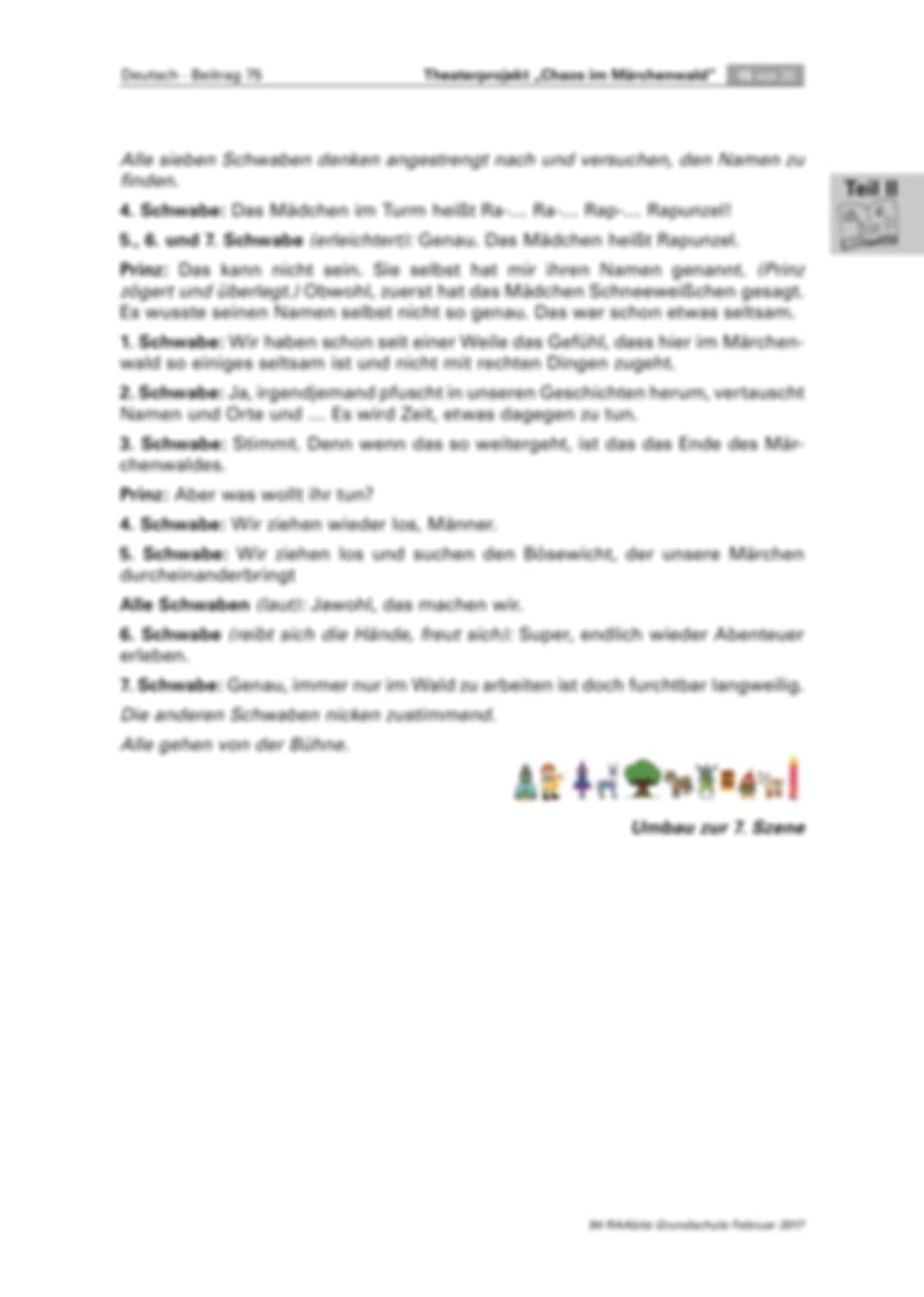 Theaterprojekt: Chaos im Märchenwald Preview 15