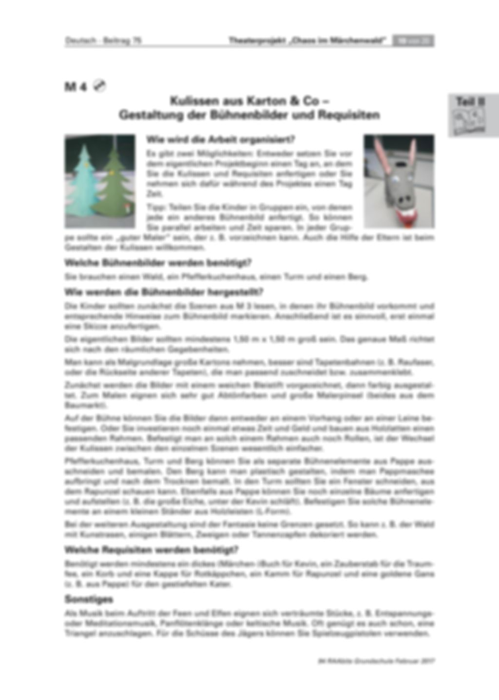 Theaterprojekt: Chaos im Märchenwald Preview 19
