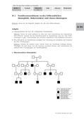 Biologie_neu, Sekundarstufe II, Genetik, Stammbäume und genetische Variabilität, Erbkrankheiten, Stammbaumanalysen, rezessive X-chromosomale Vererbung, autosomale Vererbung