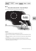Politik_neu, Sekundarstufe I, Politische Ordnung, Politische Ordnung auf Europaebene, Mitglieder der EU, EU-Flagge, Karikatur