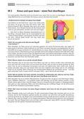Deutsch_neu, Sekundarstufe II, Lesen, Grundlagen, Erschließung von Texten, Historische Entwicklung, Anregung und Förderung von Lesen, Lesetechniken, Faire Mode