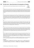 Englisch_neu, Sekundarstufe I, Lesen und Literatur, Interkulturelle Kompetenzen und Landeskunde, Medien, Lesen und Leseverstehen, Soziokulturelles Orientierungswissen, Erschließung von Texten, Medienkompetenz, Lesetechniken, Geschichte, Strategien zur Texterschließung, Nutzungskompetenz, Detailgenaues Lesen, Kursorisches Lesen, Zwischenüberschriften, Ethnic groups, Timeline of immigration, Immigration requirements, Push and pull factors