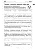 Englisch_neu, Sekundarstufe I, Lesen und Literatur, Schreiben, Verfügung über sprachliche Mittel, Lesen und Leseverstehen, Texte, Schreibverfahren, Prozessorientiertes Schreiben, Wortschatz und Idiomatik, Grammatik, Lesetechniken, Gebrauchstexte, Pragmatisches Schreiben, Planen von Texten, Überarbeiten von Texten, Wortschatz, Wortarten, Detailgenaues Lesen, Darstellende und argumentative Sachtexte, Erörterung/ Persönliche Stellungnahme, Strategien der Fehlerkorrektur, Themenspezifische Wortfelder, Konjunktion und Subjunktion, Jumbled parts, Mindmap, Mustertext
