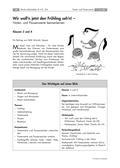 Musik_neu, Primarstufe, Musikpraxis, Musiktheorie und -geschichte, Spielen von Musikinstrumenten, Musik und Tanz/ Szenische Darstellung von Musik, Musik hören, Notation, Der Körper als Instrument/ Bodypercussion, Orff'sches Instrumentarium, Darstellung von Musik durch Bewegung, Einfache musikalische Parameter hören, Noten- und Pausenwerte, Musikalische Parameter, Rhythmus, Takt, Taktschläge, Taktarten, Ganze, Halbe, Viertelnoten, Liedbegleitung mit Orff-Instrumenten, Achtelnote, Pausenzeichen, Wir woll'n jetzt den Frühling seh'n!, Bewegungslied, Notenbuch, Notenschlüssel, Ganze Pause, Halbe Pause, Viertelpause, Achtelpause, Rechnen mit Notenwerten