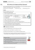 Chemie_neu, Sekundarstufe I, Allgemeine Chemie, Elemente der Hauptgruppen, Redoxvorgänge, Gruppe 16/ Chalkogene, Oxidation und Reduktion, Sauerstoff und seine Verbindungen, Versuche, Reduktionsmittel, Oxidationsmittel, Redoxreaktion