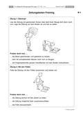 Sport_neu, Primarstufe, Körperwahrnehmung und Bewegungsfähigkeit, Funktionsgymnastik, Katzenbuckel, Strecken, Bewegung, Kräftigung