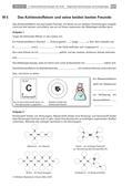 Chemie_neu, Sekundarstufe I, Elemente der Hauptgruppen, Atombau, Gruppe 14, Grundlagen der Materie, Kohlenstoff und seine Verbindungen, Aufbau der Materie, Kalkwasserprobe, organische Stoffe, Oktettregel, Sauerstoffatom, Wasserstoffatom