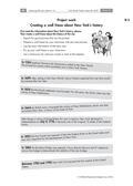 Englisch_neu, Sekundarstufe I, Mündliche Produktion und Rezeption, Lesen und Literatur, Verfügung über sprachliche Mittel, Interkulturelle Kompetenzen und Landeskunde, Medien, Produktion mündlicher Texte, Erschließung von Texten, Wortschatz und Idiomatik, Soziokulturelles Orientierungswissen, Medienkompetenz, An Gesprächen teilnehmen, Strategien zur Texterschließung, Handlungsorientierter Umgang mit Texten, Mit dem Wörterbuch arbeiten, Geschichte, Nutzungskompetenz, Schlüsselbegriffe, Visuelle Verfahren, USA, Wall frieze, Historical events, Internetrecherche
