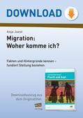 Politik_neu, Sekundarstufe I, Gemeinschaft, Toleranz und soziale Integration, Integration und Kooperation, Situation von Minderheiten, Flüchtlinge, Flüchtlingskrise, Migranten, Herkunft, Asyl, Klimaflüchtlinge