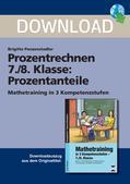 Mathematik_neu, Sekundarstufe I, Zahl, Rationale Zahlen, Prozente und Zinsen, Umrechnung, Zuordnung, Vergleich, Größe