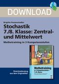 Mathematik_neu, Sekundarstufe I, Daten und Zufall, Stochastik, Diagramm, Darstellung, Interpretation, Werte, Rechnen, Arithmetisches Mittel