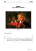 Religion-Ethik_neu, Sekundarstufe I, Feste und Feiern, Religiöse Feste, Advent und Weihnachten, Aventszeit, Weihnachten, Weihnachtszeit, Vorweihnachtszeit, Besinnung