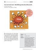 Deutsch_neu, Sekundarstufe I, Richtig Schreiben, Sprache und Sprachgebrauch untersuchen, Groß- und Kleinschreibung, Sprachliche Strukturen und Begriffe auf der Wortebene, Wortschatzarbeit, Verbindungen aus Adjektiv und Substantiv, Artikulation und Verschriftung der Wörter, Wortbedeutungslehre