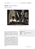 Kunst_neu, Sekundarstufe I, Flächiges Gestalten, Zeichnen, Formfüllung, Street Art, Tape Art, Klebeband, Skyline, Packband, City