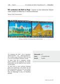 Kunst_neu, Sekundarstufe I, Flächiges Gestalten, Malen, Welt, Gebäude, Menschen, Tiere, Reisen, Flugzeug, Zeichnen, Malen