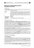 Musik_neu, Sekundarstufe I, Musiktheorie, Noten- und Pausenwerte, Grundlagen, Notation von Rhythmen, Spielen notierter Rhythmen, Viervierteltakt, Rhythmusdiktat, Zählzeiten, Rhythmusrealisation