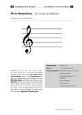 Musik_neu, Sekundarstufe I, Musiktheorie, Grundlagen der Notation, Noten- und Pausenwerte, Aufbau des Fünf-Linien-Systems, Grundlagen, Klavier, Notenschlüssel, G-Schlüssel, F-Schlüssel, Oktavbereich