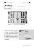 Musik_neu, Sekundarstufe I, Musiktheorie, Noten- und Pausenwerte, Grundlagen, Spielen notierter Rhythmen, Notation von Rhythmen, Spielbrett, Spiematerial, Team, Achtel, Viertel, Sechzehntel