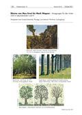 Kunst_neu, Sekundarstufe I, Sekundarstufe II, Flächiges Gestalten, Zeichnen, Collage und Montage, Collagieren, Decollage, Baum, Realismus, Naturbeobachtung, Detailaufnahme, Objektanalyse, Draht