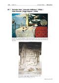 Kunst_neu, Sekundarstufe II, Flächiges Gestalten, Kunstbegegnung und -betrachtung, Ausdrucksformen und Gestaltungskonzeptionen, Analyse und Interpretation von Plastiken, Surreal, Epochen, Surrealismus, Lanschaft, Stillleben, Welt, Sachzeichnen, Collage, Zeichnung