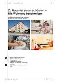 """Deutsch als Zweitsprache, Lernfeld """"Miteinander leben"""", Lernfeld """"Was mir wichtig ist"""", Kerninhalte, Grundkurs, Über das Wohnen sprechen, Von Tätigkeiten in der Freizeit erzählen"""
