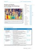 Politik_neu, Sekundarstufe I, Wirtschaft und Arbeitswelt, Tausch, Kauf und Märkte, Marketing, Käufer, Verkäufer, Produkt