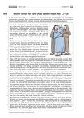 Religion-Ethik_neu, Sekundarstufe I, Die Botschaft der Bibel, Miteinander leben, Grundlagen der Bibel, Individuum und Gemeinschaft, Die Bibel als Heilige Schrift des Christentums, Freundschaft, Lüge, Wahrheit und Vertrauen, Gottvertrauen, Kanon singen, Ruts Entscheidung