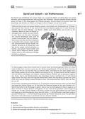 Religion-Ethik_neu, Sekundarstufe I, Die Botschaft der Bibel, Altes Testament, Königtum, Saul, David, König David, Gott als Begleiter, David-Saul-Geschichte, Alttestamentliches Gottesbild, David-Goliath-Begegnung, David und Goliath, Samuel-Bücher, Philister, David und Batseba, Davids Fall, Kräftemessen, Schuld Davids, Vergebung Gottes, David und Natan, Natans Gleichnis, Vergebung, Reue, Schuld, Psalm 51