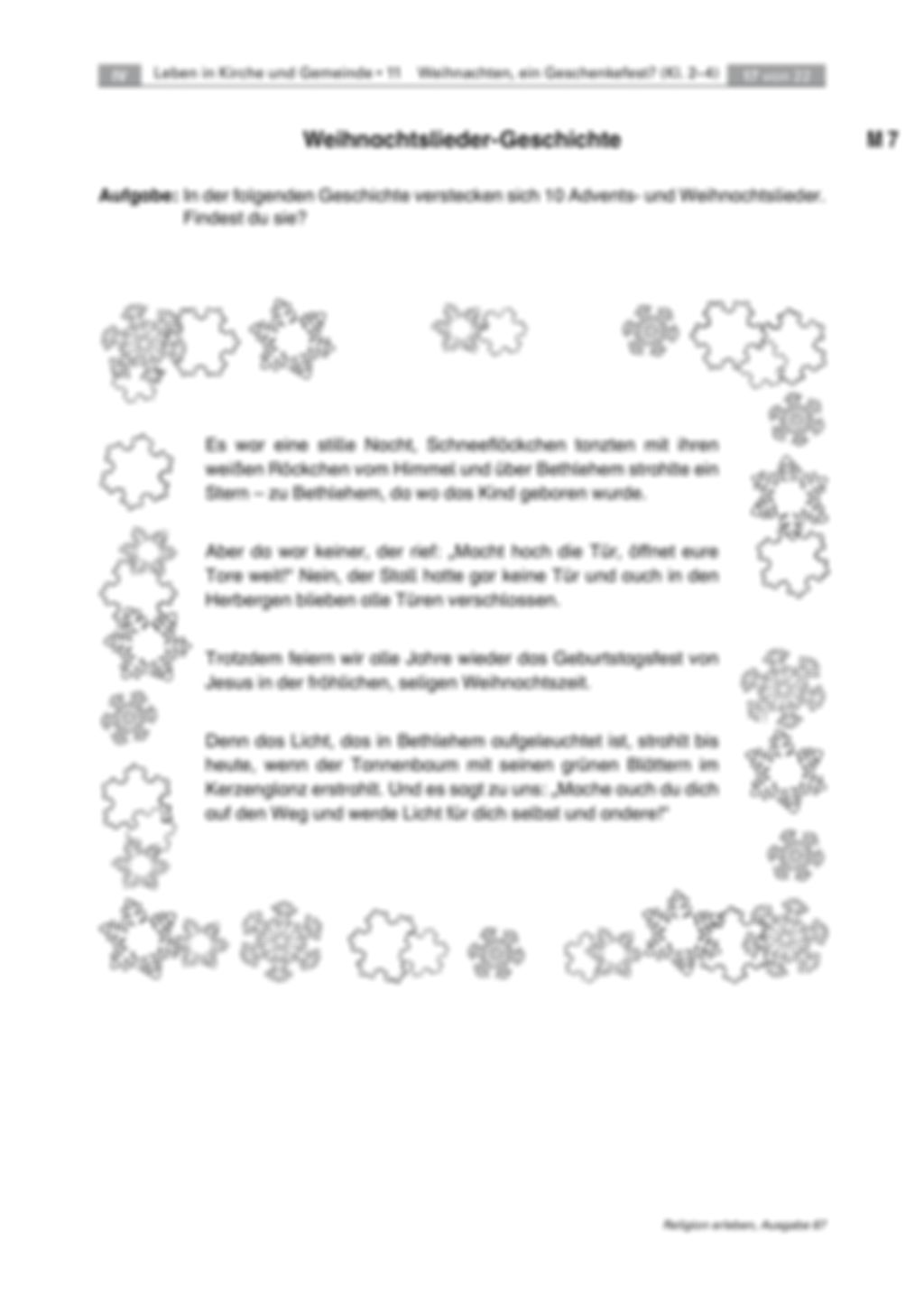 Entdecken der Weihnachtsbotschaft: Weihnachtslieder Preview 3