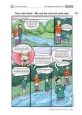 Biologie_neu, Sekundarstufe I, Ökosysteme, Gewässer, Unterscheidung von Gewässern, Bedeutung der Tiere, Pflanzen und Mikroorganismen, Tiere im Bach, Pflanzen im Bach