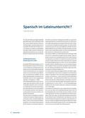 Latein_neu, Sekundarstufe I, Sekundarstufe II, Sprache, Wortschatz und Wortschatzarbeit, Übertragen lateinischer Wortschatzkenntnisse auf andere Sprachen, Lehnwörter, Fremdwörter, Fachwörter, Bedeutungserschließung in weiteren Fremdsprachen, Interkomprehension, Brückensprache Latein