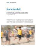 Sport_neu, Sekundarstufe I, Primarstufe, Sekundarstufe II, Laufen, Springen, Werfen/ Leichtathletik, Laufen, Werfen, Springen/ Leichtathletik, Werfen, Werfen in spielerischen Formen, Handball, Beach-Handball, werfen, fangen, Sand