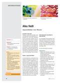 Kunst_neu, Sekundarstufe I, Flächiges Gestalten, Malen, Malen, Aquarell, Wasser, Schwamm, Papier