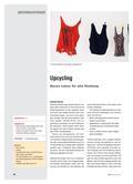 Kunst_neu, Sekundarstufe I, Medien, Auseinandersetzung mit Medien, Kommunikationsdesign, Design, Upcycling, Kleider, Textil, Knoten
