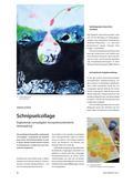 Kunst_neu, Sekundarstufe II, Flächiges Gestalten, Collage und Montage, Collage, Schnipsel, Farben, Nuancen, Landschaft