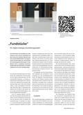 Kunst_neu, Sekundarstufe I, Sekundarstufe II, Medien, Kunstbegegnung und -betrachtung, Auseinandersetzung mit Medien, Analyse und Interpretation von Architektur und Design, Kommunikationsdesign, Design, Kommunikationsdesign, Austellung, Objekt, Fundstücke, digital