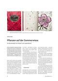Pflanzen auf der Sommerwiese - Ein Buchprojekt mit Kindern und Jugendlichen