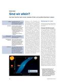 Physik_neu, Sekundarstufe I, Sekundarstufe II, Astronomie, Das Sonnensystem, Himmelskörper, Erde, Messmethode, astrometrisch, Doppler-Verschiebung, Transits, Exoplanet, Radialgeschwindigkeit, Oberflächenwasser