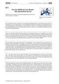 Politik_neu, Sekundarstufe I, Politische Ordnung, Politische Ordnung auf Europaebene, Motive und Ziele der Europäischen Union, Leistungen der Europäischen Union, Chance Europa, EU, Europäische Union, Europa, Entstehungsgeschichte der EU, EGKS, Brexit, Europäische Gemeinschaft