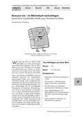 Deutsch_neu, Sekundarstufe I, Richtig Schreiben, Verwendung von Rechtschreibhilfen, Wörterbuch