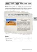 Geschichte_neu, Sekundarstufe I, Vor- und Frühgeschichte, Hochkulturen in Ägypten und Mesopotamien, Gizeh, Gräber, Archäologie, Pharao, Grabanlage