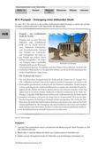 Geschichte_neu, Sekundarstufe I, Antike, Rom und das Imperium Romanum, Römisches Reich, Naturereignisse, Vesuv, Archäologie, Gruppenpuzzle