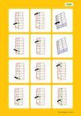 Deutsch_neu, Primarstufe, Sprache und Sprachgebrauch untersuchen, Sprachliche Strukturen und Begriffe auf der Wortebene, Wortschatzarbeit, Wortfeld, Wortkärtchen, Bildkärtchen, Deutsch als Zweitsprache, Tagesablauf, Wochentage, Uhr