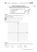 Mathematik_neu, Sekundarstufe I, Funktionen, Lineare Funktionen, Lösen von Gleichungen, Lösen linearer Gleichungssysteme, Wertetabellen, Funktionsgleichung, Idealgewicht, Koordinatensystem, Schaubild