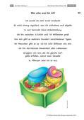 Biologie_neu, Sekundarstufe I, Zellbiologie, Aufbau und Funktionen der Zellbestandteile, Zellorganellen, Schülerversuch, Maispflanze, Nahrungskette, Vorwissen aktivieren